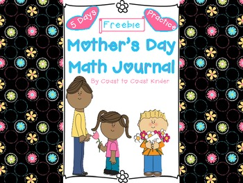 Mother's Day Week Math Journal & Practice