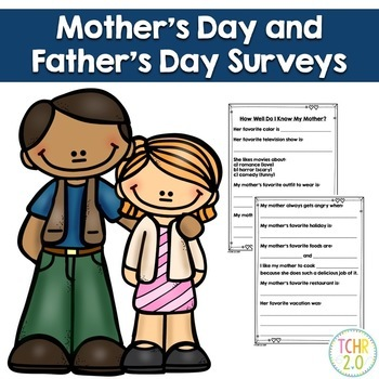 Mother's Day Father's Day Survey May June