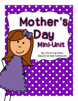 Mother's Day Writing Mini-Unit {for Grandmoms, Aunts and F