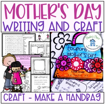 Mother's Day - Writing and Craftivity Year 3-4