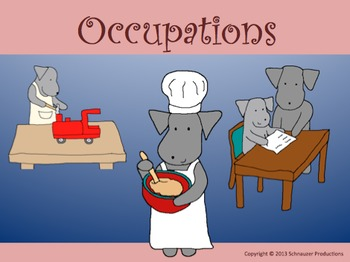 Occupations by Pepper with Mother's Day and Father's Day Cards