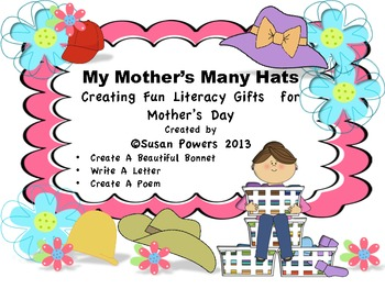 Mother's Many Hats: Literacy & Craft Fun for Mother's Day