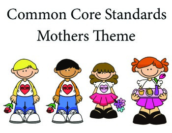 MothersDay 1st grade English Common core standards posters