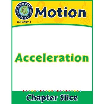 Motion: Acceleration Gr. 5-8