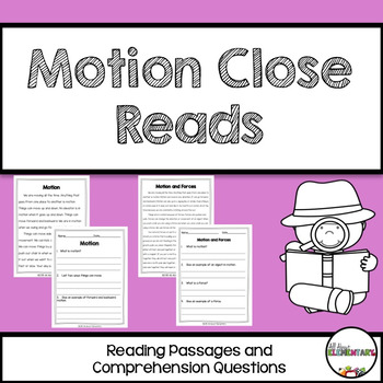 Motion Close Reads