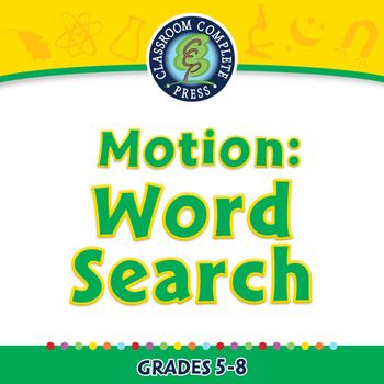 Motion: Word Search - MAC Gr. 5-8