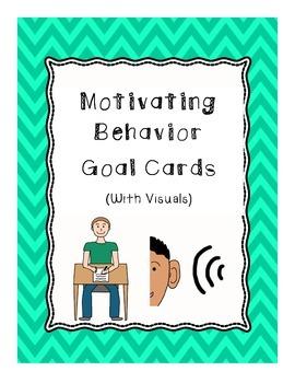 Motivating Behavior Goal Cards