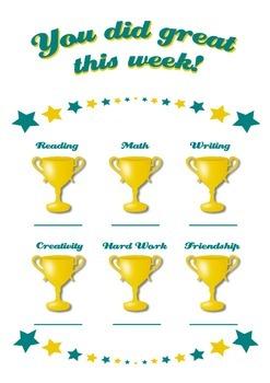 Motivational Achievement Awards Poster
