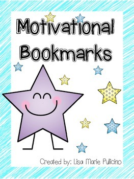 Motivational Bookmarks for Students