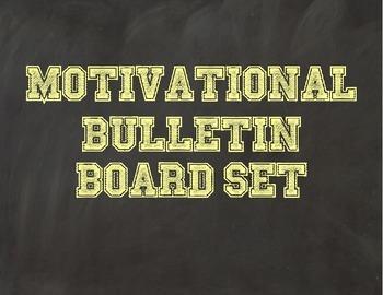 Motivational Bulletin Board Set