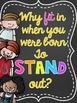 Motivational Classroom Posters CHALKBOARD Version