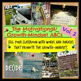 Motivational/Growth-Mindset ABCs Bundle - volume two