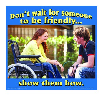 Motivational Message - Be Friendly