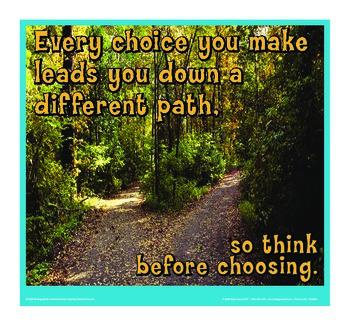 Motivational Message - Different Paths