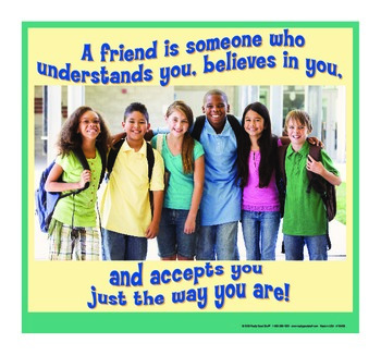 Motivational Message - Friends Accept