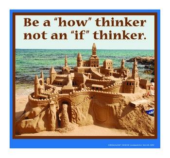 Motivational Message - How Thinker