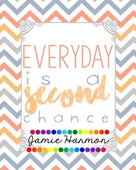 Motivational Poster: Second Chance