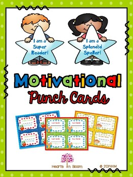 Motivational Punch Cards (Freebie)