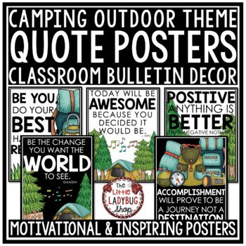 Motivational Quote Posters • Motivational Posters- Camping