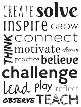 Motivational Teaching Poster