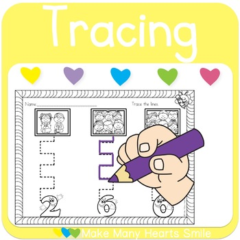 Motor Skills with Photos and Numbers