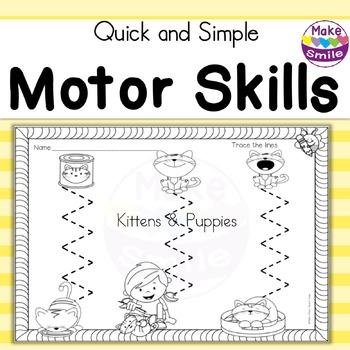 Motor Skills: Kittens and Puppies