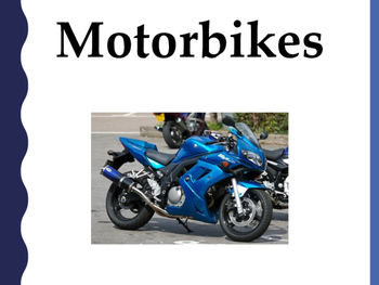 Motorbikes simple text reader