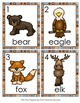 Mountain Animals Write the Room Activity