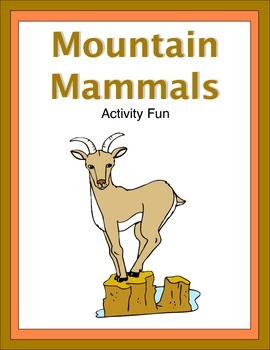Mountain Mammals Activity Fun