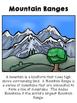 Mountain Habitat Packet