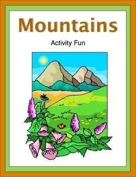 Mountains Activity Fun