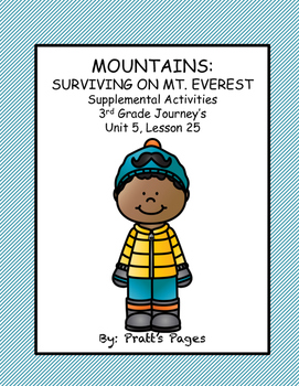 Mountains: Surviving Mt. Everest Supplemental Journey's Un