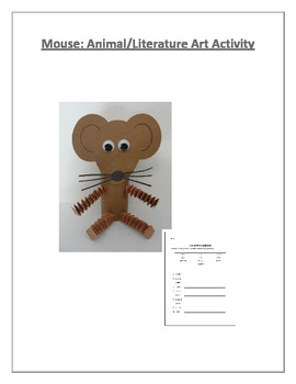 Mouse: Animal/Literature Art Activity