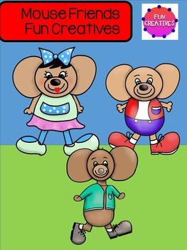 Mouse Friends Free Clip Art