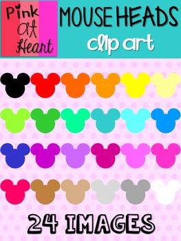 Mouse Heads Clip Art