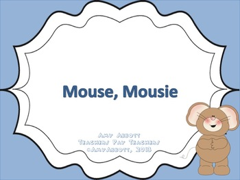 "Mouse, Mousie: a PDF/PowerPoint for teaching ""do"""