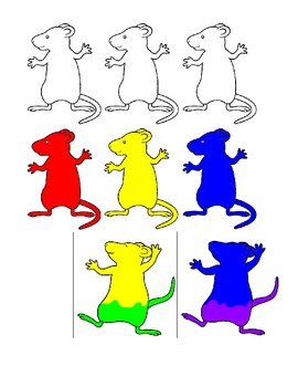 Mouse Paint Story Telling