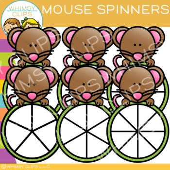 Mouse Spinners Clip Art