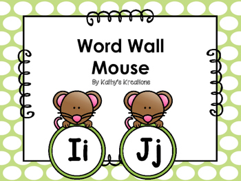 Mouse Word Wall