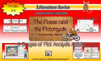 Mouse and the Motorcycle 6 Stage Plot Analysis Actvity Com