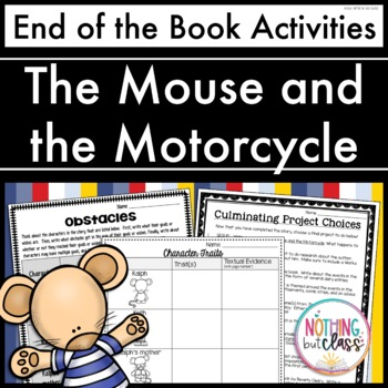 Mouse and the Motorcycle: End of the Book Reading Response