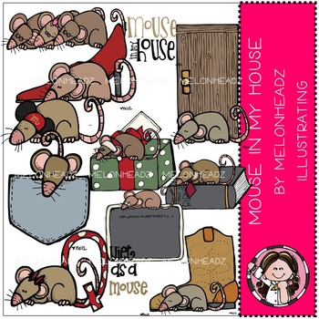 Mouse in my house by Melonheadz COMBO PACK