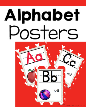 Disney inspired ALPHABET POSTERS version 1