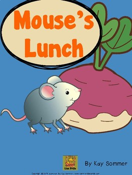 Mouse's Lunch {interactive book}