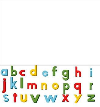 Movable Lowercase Letters