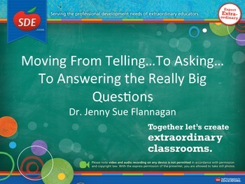 Move from Telling to Asking Questions