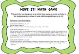 Move it! Math Game