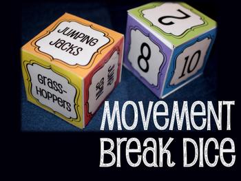 Movement Break Dice