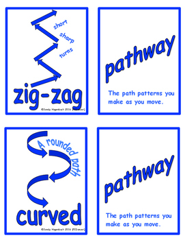Movement Flash Cards Pathways