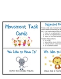 Movement and Transition Task Cards